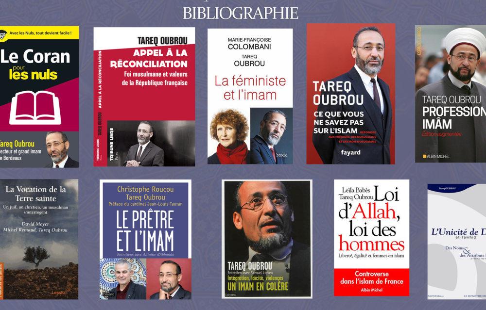 BIBLIOGRAPHIE DU THÉOLOGIEN ET IMAM  TAREQ OUBROU
