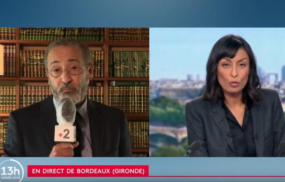 Attentat de Conflans-Sainte-Honorine : Tareq Oubrou l'imam de Bordeaux réagit sur France 2