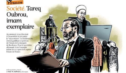 Vu d'Allemagne. L'imam de Bordeaux, Tareq Oubrou, un prédicateur exemplaire